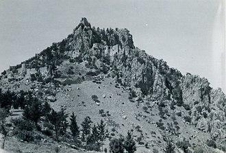 Saint Hilarion Castle - Image: St Hilarion Castle, Cyprus 1952