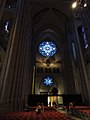 St John The Divine Rose Window from inside.JPG