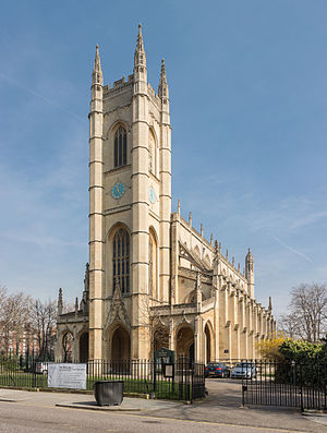 St Luke's Church, Chelsea - Image: St Luke's Church Exterior 1, Chelsea, England Diliff
