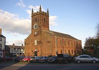 Wigton town in Cumbria, England