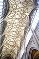 St Mary Redcliffe ceiling 2.JPG
