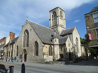 St Mary de Crypt Church, Gloucester Grade I listed church in the United Kingdom