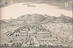 Riquewihr - Old map of Reichenweiher / Riquewihr