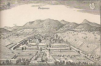 Riquewihr - Old map of Reichenweiher / Riquewihr