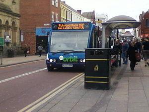 Stagecoach in Preston - Bus 88C