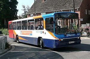 Volvo B10M - Stagecoach South Alexander PS bodied B10M in Horsham in September 2008