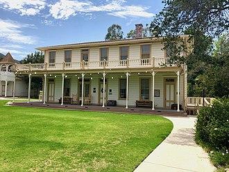 Stagecoach Inn (California) - Grand Union Hotel originally operated as a health resort.