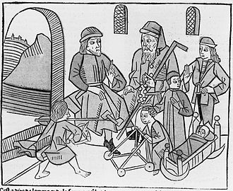 Bartholomeus Anglicus - Stages of Life by Bartholomeus Anglicus (1486).