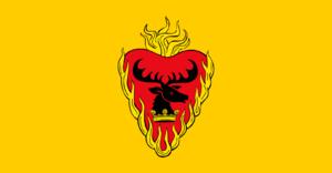 Stannis Baratheon - Stannis' personal banner in the TV series.