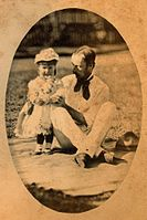 StateLibQld 1 224572 Edmund Rawson and his youngest daughter Dorothy.jpg