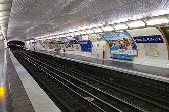 Filles du Calvaire (Paris Métro) - Image: Station métro Filles du Calvaire 20130627 160514