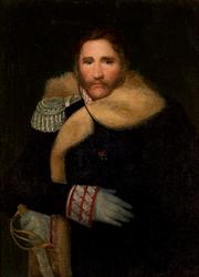 Wojciech Korneli Stattler: Portrait du général Henryk Dembiński (1791-1864).
