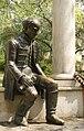 Statue of Ferenc Kölcsey in Mátészalka.jpg