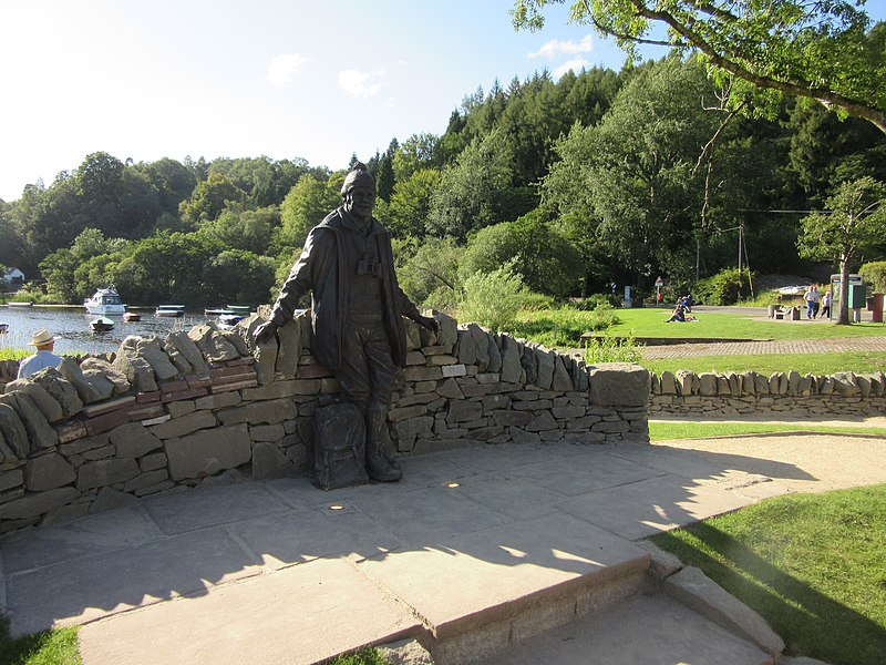 Image result for tom weir statue
