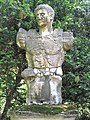 Statue of the roman emperor Augustus in the jardin des Serres de la Madone.jpg