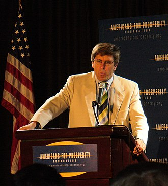 Stephen Moore (writer) - Stephen Moore speaking at Americans for Prosperity Foundation event in 2008