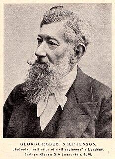 George Robert Stephenson British civil engineer