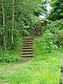 Steps from River Severn footpath to Bewdley Bypass - geograph.org.uk - 870689.jpg