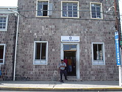 The Police Station in Basseterre