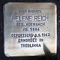 Stolperstein Güntzelstr 53 (Wilmd) Helene Reich.jpg