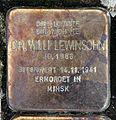 Stolperstein Klosterstr 73 (Mitte) Willi Lewinsohn.jpg