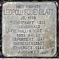 Stolperstein Leopold Rosenblatt (Wetzlarer Straße 31 Butzbach).jpg