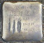 Stolperstein Offenburg Albert Kern.jpg