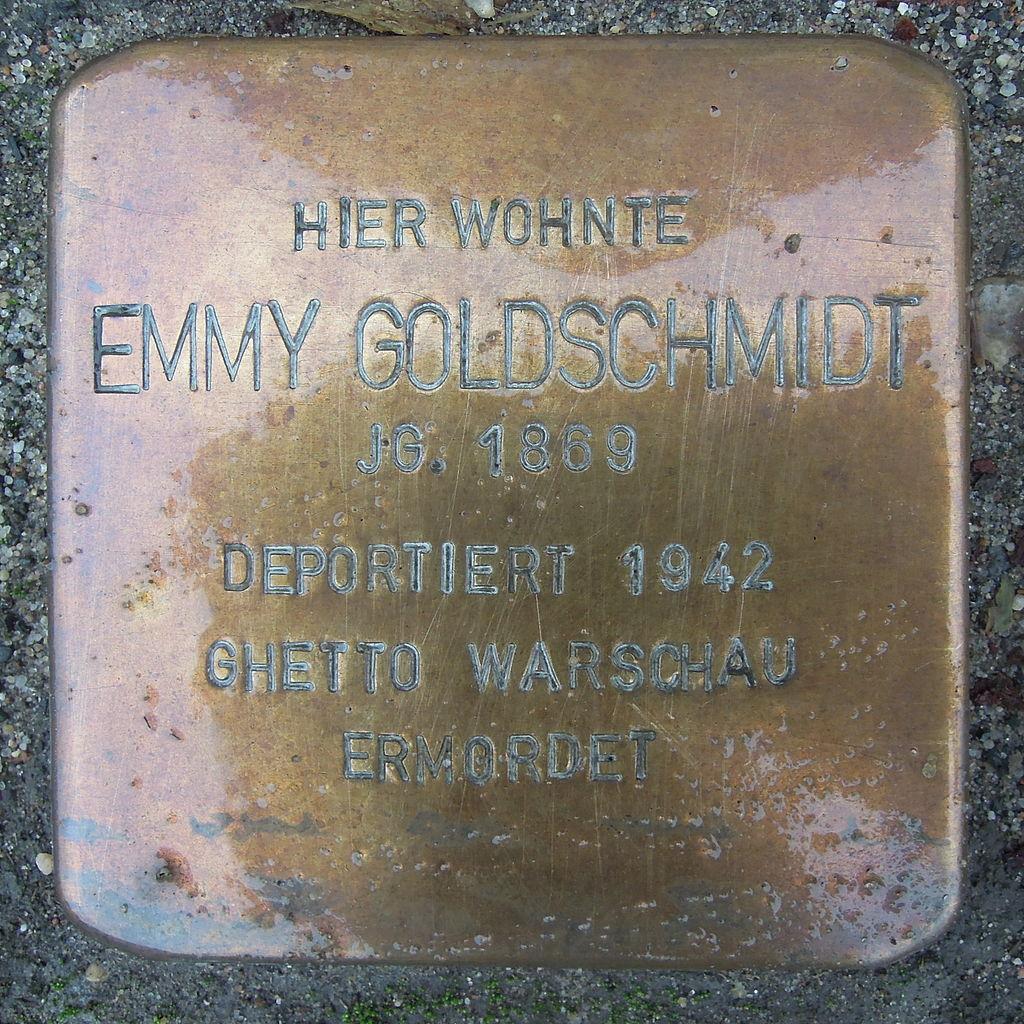 Stolperstein Rehburg-Loccum Mühlentorstraße 14 Emmy Goldschmidt