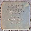 Stolperstein für Antonio di Pietromicca (Rom).jpg