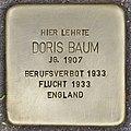 Stolperstein für Doris Baum (Heidelberg).jpg