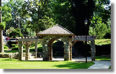 Stone shelter in Independence Park, Charlotte, NC.jpg