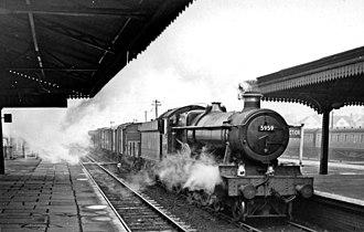 Stourbridge Junction railway station - The station in 1958