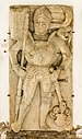 Straßburg Schlossweg 6 ehem. Bischofsburg Lapidarium Grabplatte eiines Ritters 30092020 9919.jpg