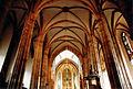 Strasbourg, Saint-Thomas, voûte de la nef centrale et vue sur le chœur.jpg