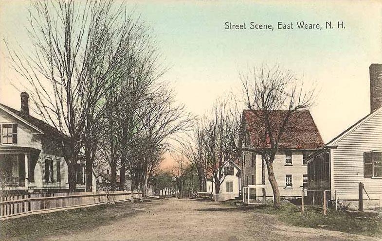 Street Scene, East Weare, NH