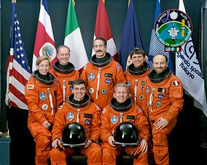 STS-46 - Image: Sts 46 crew
