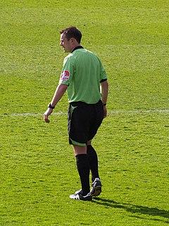 Stuart Attwell English football referee