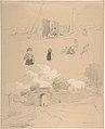 Study Sheet with Figures and Landscapes at Arnemuiden (near Middelburg, The Netherlands) MET DP800955.jpg