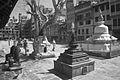 Stupas in the Courtyard of Itum Bahal (5186686851).jpg