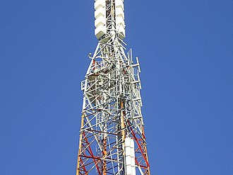 Sugarloaf (Christchurch) - Image: Sugarloaf Antenna