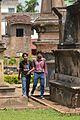 Sukanta Pal And Bodhisattwa Mandal Collecting Information - Dutch Cemetery Documentation - Chinsurah - Hooghly 2014-05-14 8488.JPG