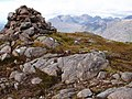 Summit Cairn of Beinn na-h- Eaglaise - geograph.org.uk - 648016.jpg