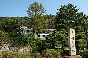 Awaji Island - Image: Sumoto Castle 02