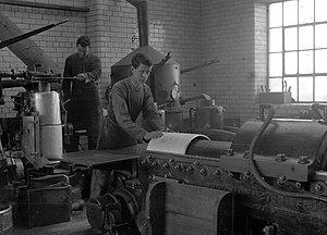 Sunderland Echo - The pre-war days of hot metal newspaper production at the Echo