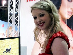 Sunny Lane - Lane at AVN Adult Entertainment Expo 2010