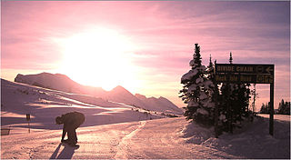 Banff Sunshine Ski resort in Alberta, Canada