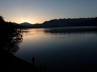 Rara Lake - Image: Sunshine at rara