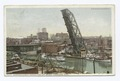 Superior Street Viaduct and Lift Bridge, Cleveland, Ohio (NYPL b12647398-73848).tiff