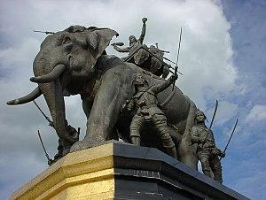 Suriyothai - Statue of Suriyothai