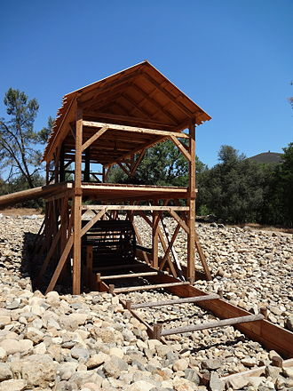Sutter's Mill - Modern reconstruction